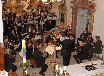 J. Haydn: Nelsonmesse am 27. April 2014 in Mariabrunn