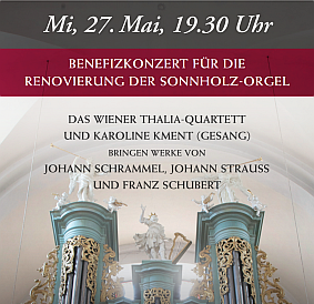 Benefizkonzert am 27. Mai 2015