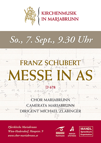 Schubert: As-Dur-Messe